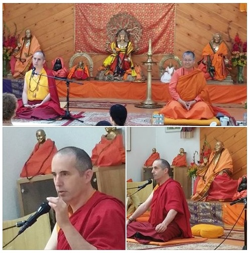 Tulku Sherdor at Yoga Farm West